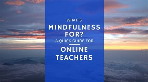 mindfulness based the sparks guide for educators and counselors books what is mindfulness for a guide for teachers
