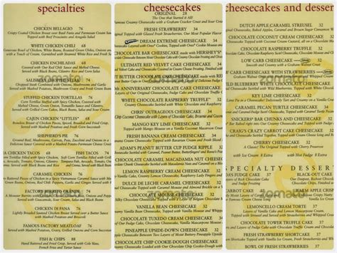 cheesecake factory light menu vambina s eats travels dreams food trip cheesecake
