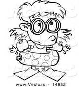 swimming goggles coloring coloring pages
