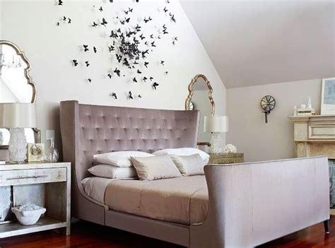 Gossip Bedroom Butterflies Hang The Mirrors On Each Side Of Bed Nightstand