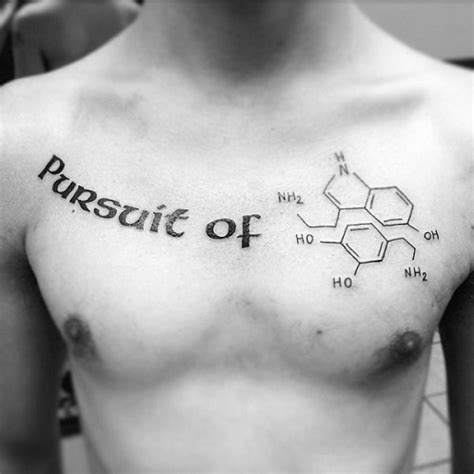 chemistry tattoo 9 stylish chemistry tattoos for and