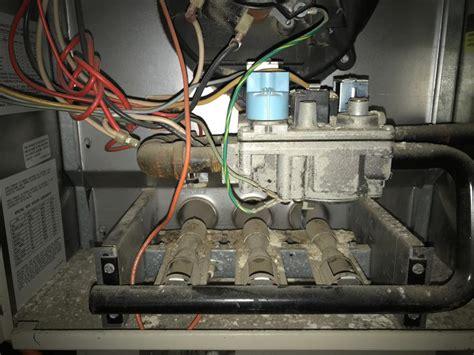 gas furnace not lighting rheem criterion burners not lighting doityourself com