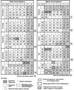 Kalendar 2018 Srpski Kalendar 2017 Srbija
