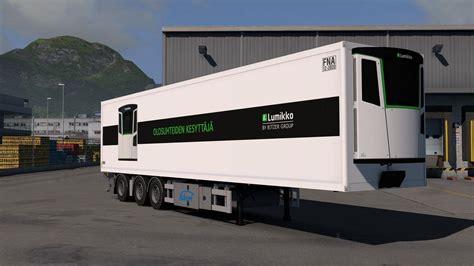 ekeri trailers  kast  ets euro truck simulator  mods