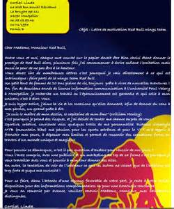 Curriculum Vitae Cv by Lettre De Motivation Cr 233 Ative Pour Devenir Wings Chez Red