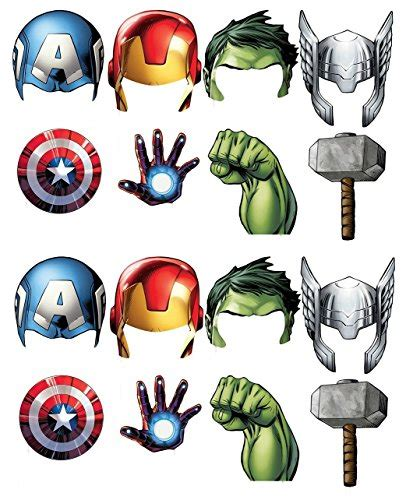 avengers photo booth layout fun express 13659365 super hero stick costume props sales