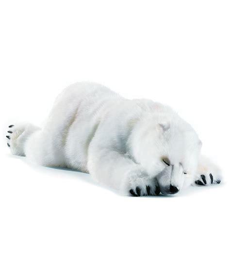 animal dormeur peluches anima ours polaire dormeur 100cm