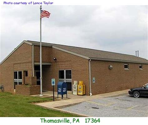 Thomasville Post Office by Pennsylvania Post Offices