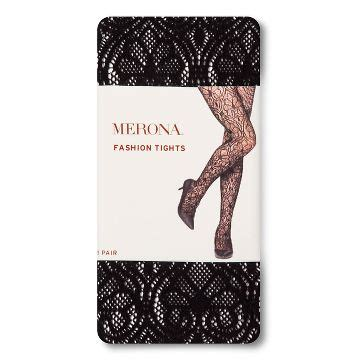 merona patterned tights footless lace tights target