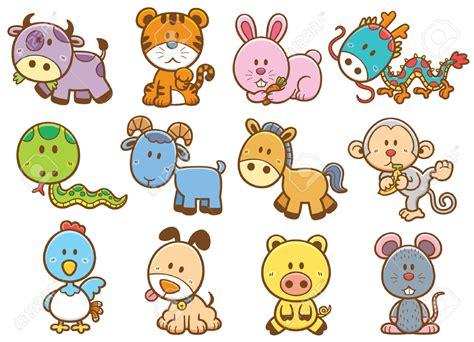 new year 12 zodiac animals zodiac clipart pencil and in color zodiac