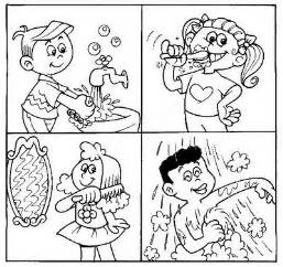 personal hygiene coloring pages 120 pages personal hygiene