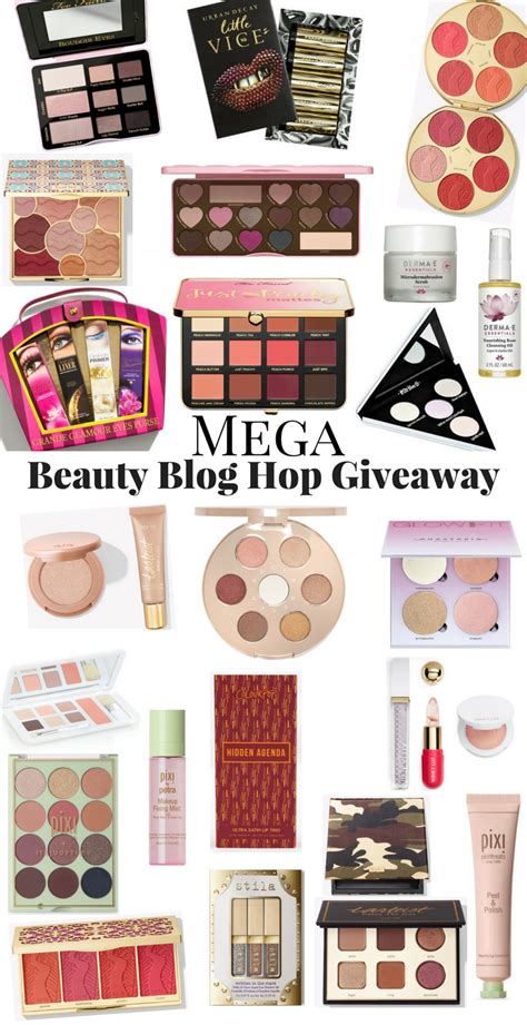 Beauty Blog Giveaways - the mega beauty blog hop giveaway notes from my dressing table