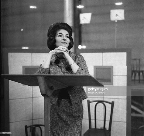 maria callas paris maria callas in rehearsal at the salle wagram in may 1963