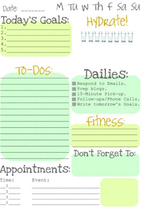 printable to do list for moms itmom spotted free printable daily to do list