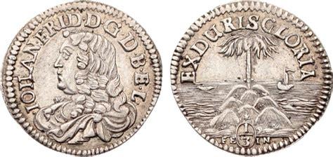 orientalische möbel hannover 1 3 palmbaumtaler 1665 1679 braunschweig calenberg