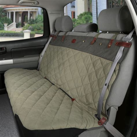 bench seat covers for dogs premium smartfit quilted pet bench seat cover