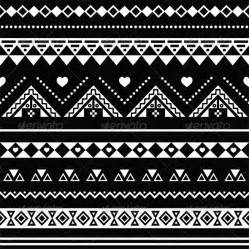 aztec print black and white 187 tinkytyler org stock