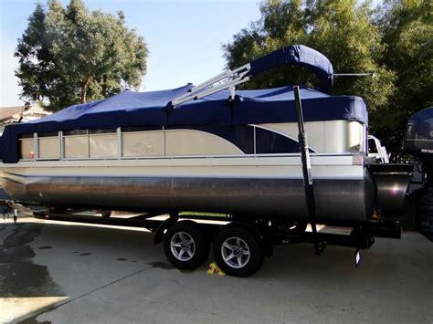 used bennington pontoon boats for sale california 2014 used bennington sfx 24 tritoon pontoon boat for sale