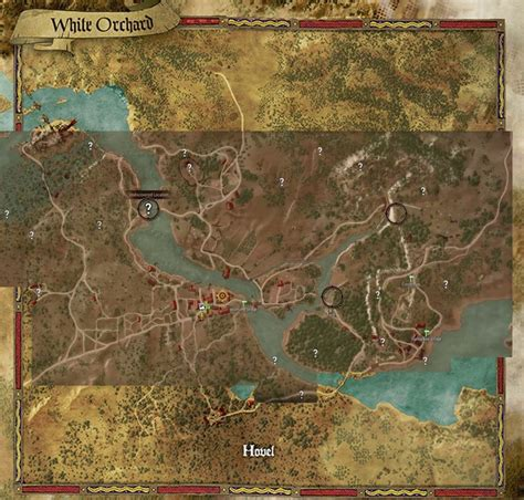 orchard map white orchard the witcher 3 wiki