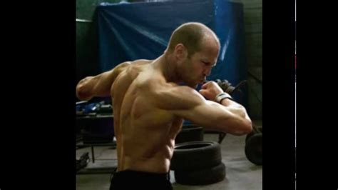Sly In Steroids by Transformation Before And After Jason Statham