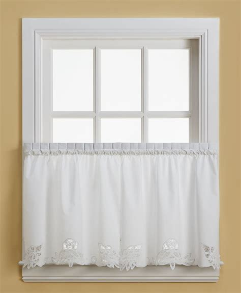 battenburg lace kitchen curtains battenburg lace cotton 24 quot kitchen curtain tier white