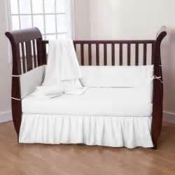 babies white crib bedding
