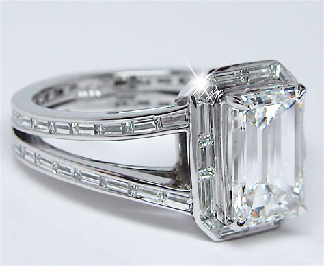 popular emerald cut rings with ring emerald cut