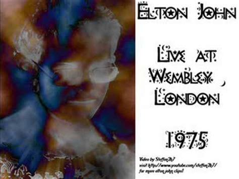 elton john curtains elton john curtains live wembley 1975 youtube