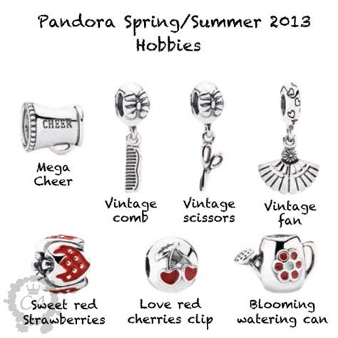 pandora 2013 look charms addict