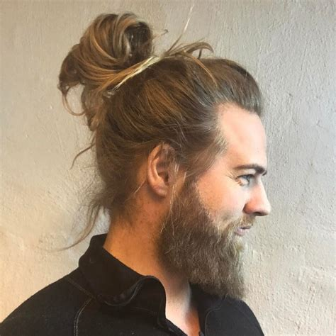 how to grow a manbun with shaved sides 21 man bun styles