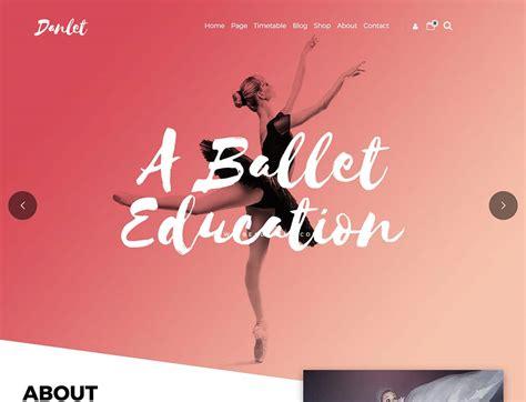 theme wordpress dance 5 best wordpress themes dance studio site 2017 web