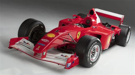 Wheels Formula 1 F2001 Michael Schumacher Marlboro michael schumacher s 2001 f2001 being auctioned