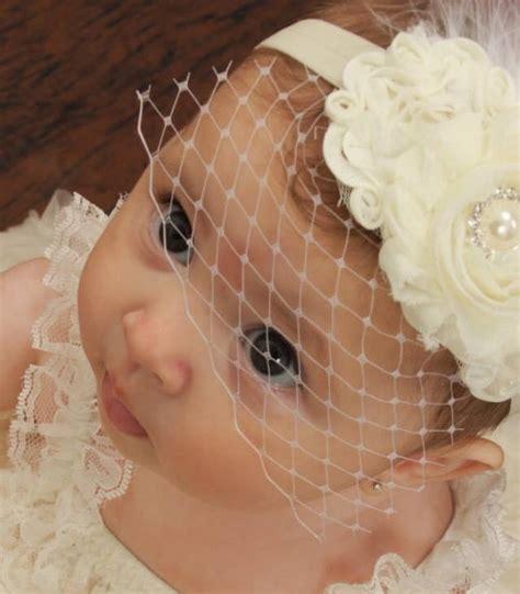 newborn tiara baby headband newborn by alliballiboutique baby baptism headband birdcage veil by nanarosedesigns