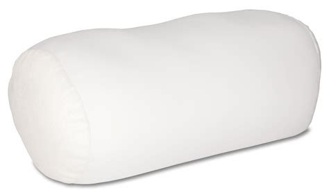 Neck Roll Pillow by Mini Microbead Pillow Neck Roll Bolster Pillows White