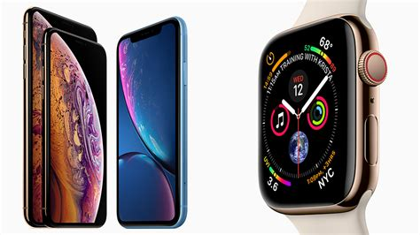 apple announces the iphone xs xs max xr and the apple series 4 b h explora