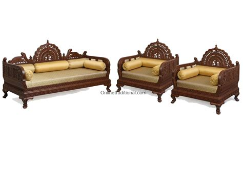 traditional wooden sofa designs sofa set 005 pearl handicraftspearl handicrafts