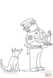 Officer Buckle And Gloria Coloring Pages Officer Buckle And Gloria Coloring Page Free Printable