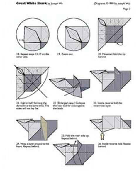 Origami Shark Diagram - unicorn origami tutorial xinblog craft ideas