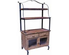 Metal And Wood Bakers Rack Bakers Rack Oak And Wrought Iron Bakers Rack With Drawers