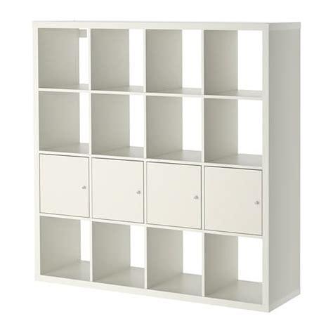 scaffale bianco ikea kallax scaffale con 4 accessori bianco ikea