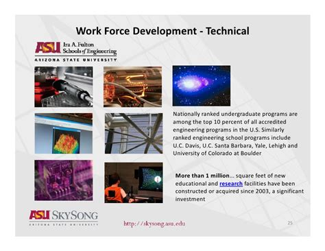 Asu Evening Mba Program by Overview Of Asu Skysong Jim Cook