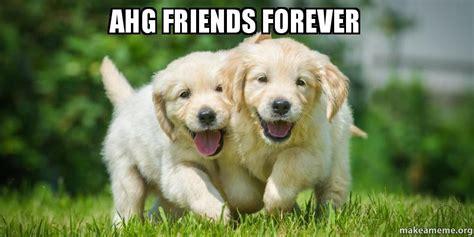 Friends Forever Meme - ahg friends forever make a meme