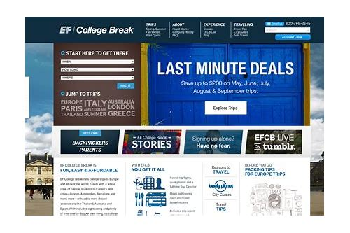 ef college break coupon