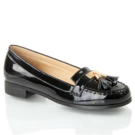 flat formal shoes for womens flat smart casual formal vinatge loafers