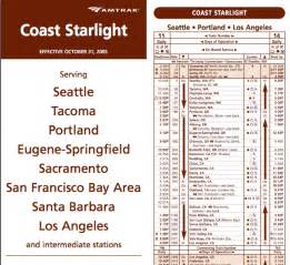 Amtrak schedules amp fares rails to rodeos 2006