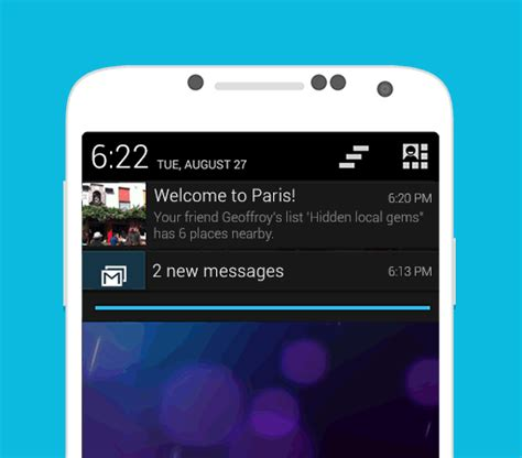 android push notification foursquare launches active location push notifications for android mobilesyrup
