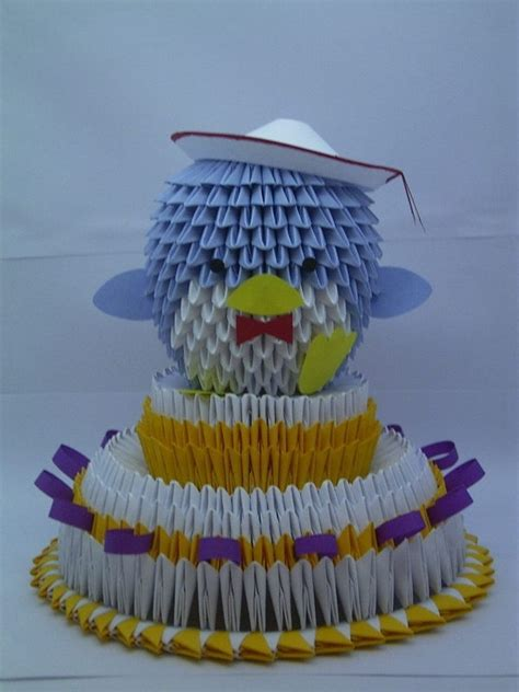 3d Origami Cake - 116 best 3d origami d images on modular