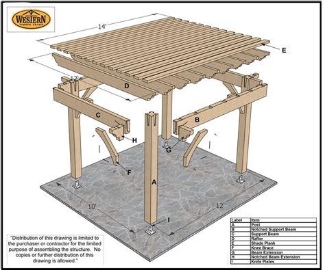 10 x 12 pergola plans timber frame pergola western timber frame