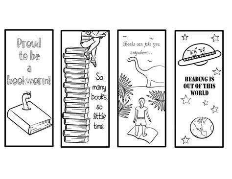 printable bookmarks for kids printable bookmarks for kids kiddo shelter printable