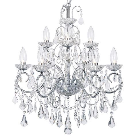 bathroom chandelier vara 9 light bathroom chandelier chrome